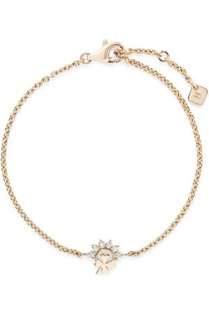 NOUVEL HERITAGE Ženy Náramky - 18kt yellow gold small Mystic Luck diamond bracelet