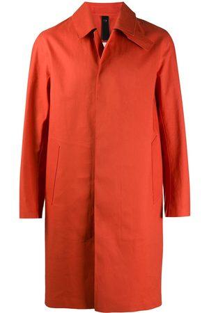 MACKINTOSH Oxford single-breasted coat