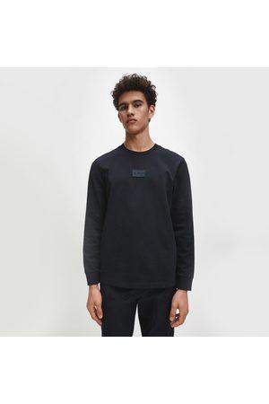 Calvin Klein Pánské černé triko s dlouhým rukávem