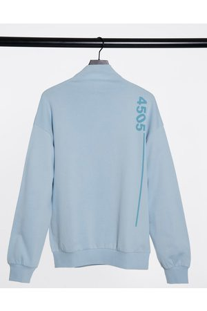 ASOS Unisex high neck sweat-Blue