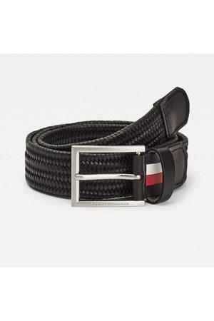 Tommy Hilfiger Pánský černý pásek Formal