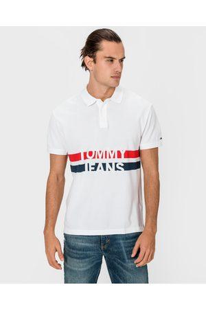 Tommy Hilfiger Muži S límečkem - Block Stripe Polo triko