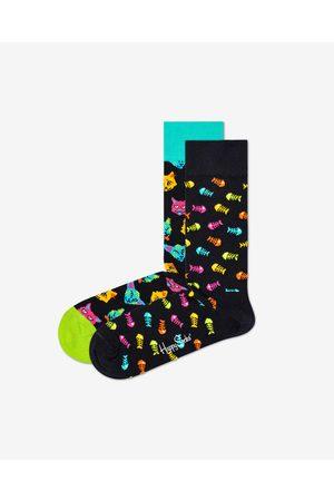 Happy Socks Cat Gift Box Ponožky 2 páry
