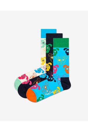 Happy Socks Dog Gift Box Ponožky 3 páry