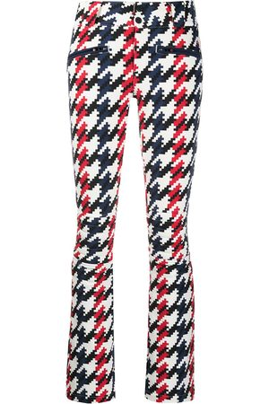 Perfect Moment Houndstooth print flared trousers