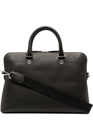 MULBERRY Slim City grained leather briefcase