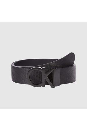 Calvin Klein Muži Pásky - Pánský černý pásek