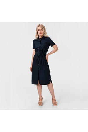 Tommy Hilfiger Dámské tmavě modré košilové šaty Reisa