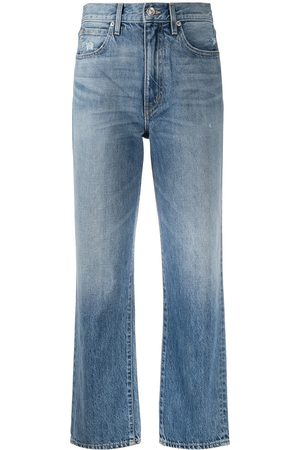 SLVRLAKE High-rise cropped jeans
