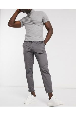 River Island Tapered chino in grey