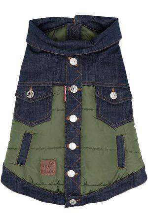 Dsquared2 X Poldo Dog Couture denim panel jacket