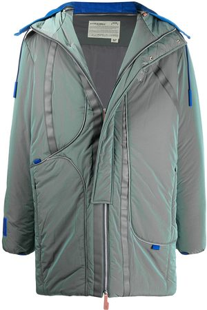 A-cold-wall* Iridescent padded coat