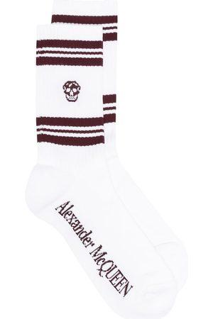 Alexander McQueen Ribbed skull socks