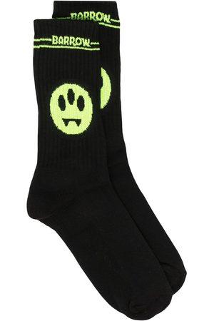 BARROW Muži Ponožky - Logo intarsia mid-calf socks