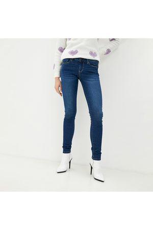 Pepe Jeans Ženy Kalhoty - Dámské tmavě modré džíny Soho