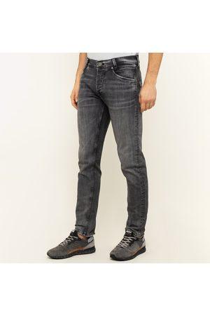Pepe Jeans Muži Džíny - Pánské tmavě šedé džíny Spike