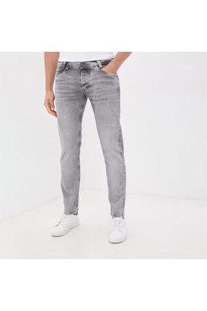 Pepe Jeans Muži Džíny - Pánské světle šedé džíny Spike