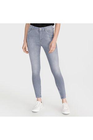 Pepe Jeans Ženy Kalhoty - Dámské šedé džíny Cher High