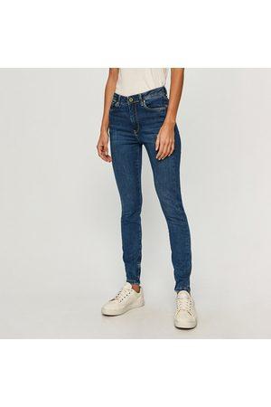 Pepe Jeans Ženy Kalhoty - Dámské modré džíny Cher High.