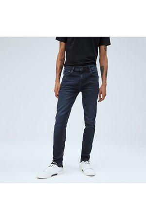 Pepe Jeans Muži Kalhoty - Pánské tmavě modré džíny Finsbury