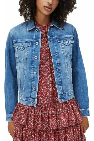 Pepe Jeans Ženy Džínové bundy - Dámská džínová bunda