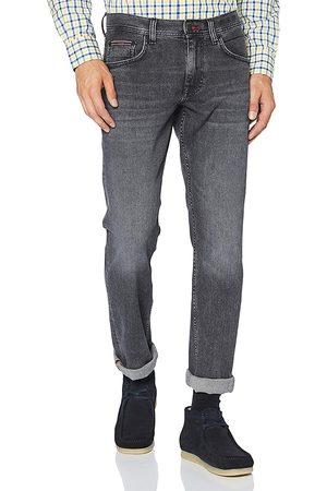 Tommy Hilfiger Muži Džíny - Pánské černé džíny Denton