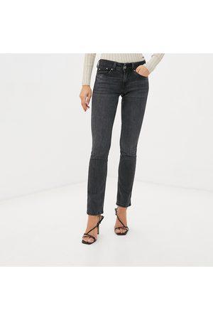 Pepe Jeans Ženy Kalhoty - Dámské tmavě šedé džíny Saturn
