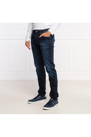 Pepe Jeans Muži Džíny - Pánské tmavě modré džíny Stanley