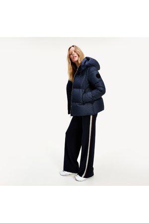 Tommy Hilfiger Ženy Bundy - Dámská tmavě zimní bunda