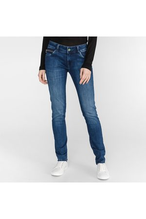 Pepe Jeans Ženy Kalhoty - Dámské modré džíny New Brooke