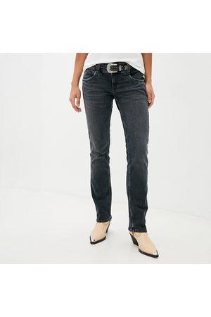 Pepe Jeans Ženy Džíny - Dámské tmavě šedé džíny Gen