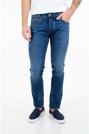 Pepe Jeans Muži Džíny - Pánské modré džíny Spike