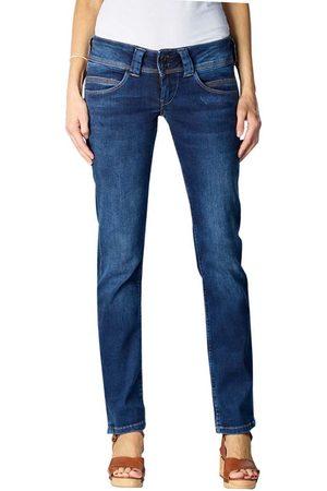 Pepe Jeans Ženy Kalhoty - Dámské modré džíny Venus