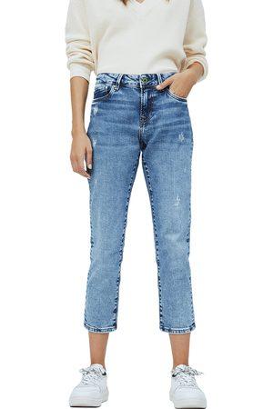 Pepe Jeans Ženy Kalhoty - Dámské světle modré džíny Jolie