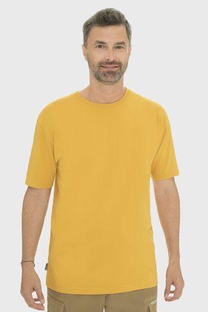 BUSHMAN Muži Trička - Žluté tričko Arvin