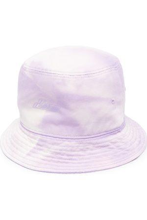 We11done Muži Klobouky - Embossed-logo bucket hat