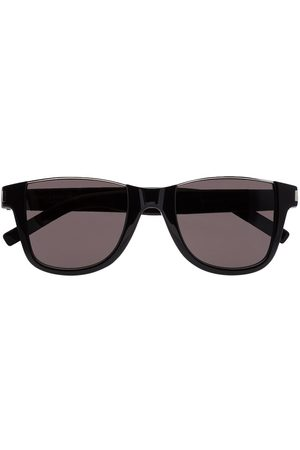 Saint Laurent Rimless detail square-frame sunglasses