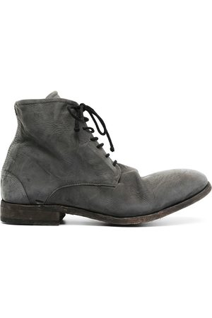 ISAAC SELLAM EXPERIENCE Chunky lace-up leather boots