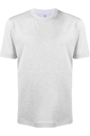 Brunello Cucinelli Contrast-trim T-shirt