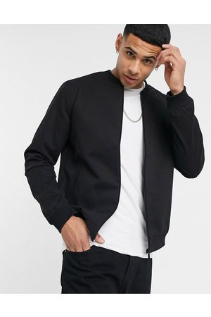 New Look Cotton bomber in black