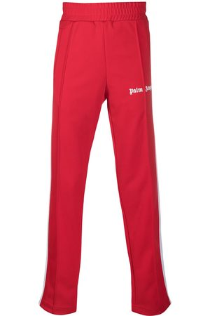 Palm Angels CLASSIC TRACK PANTS RED WHITE