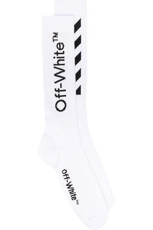 OFF-WHITE Diag stripe socks