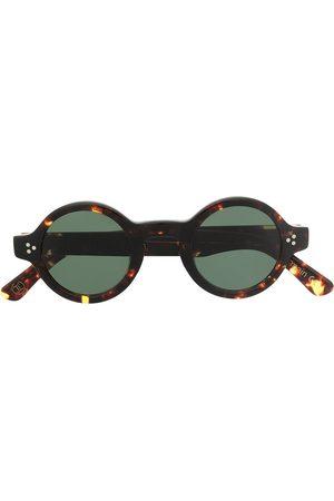 LESCA Burt round-frame sunglasses