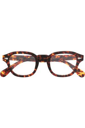 LESCA Posh round-frame glasses