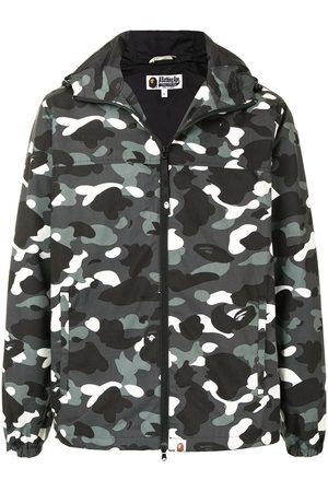 A BATHING APE® City camo hooded jacket
