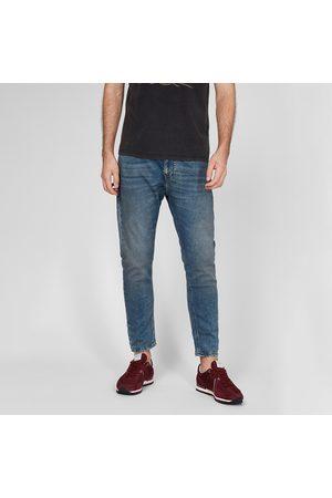 Pepe Jeans Muži Džíny - Pánské modré džíny Johnson