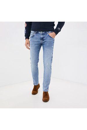 Pepe Jeans Muži Džíny - Pánské světle modré džíny Ryland
