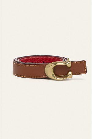Coach Oboustranný kožený pásek
