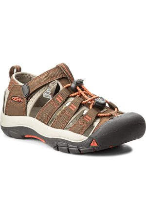 Keen Sandály - Newport H2 1018248 Dark Earth/Spicy Orange