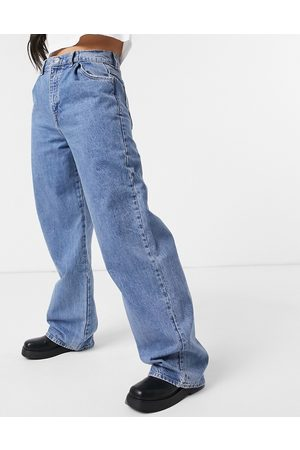 Pull&Bear 90's baggy jeans in blue
